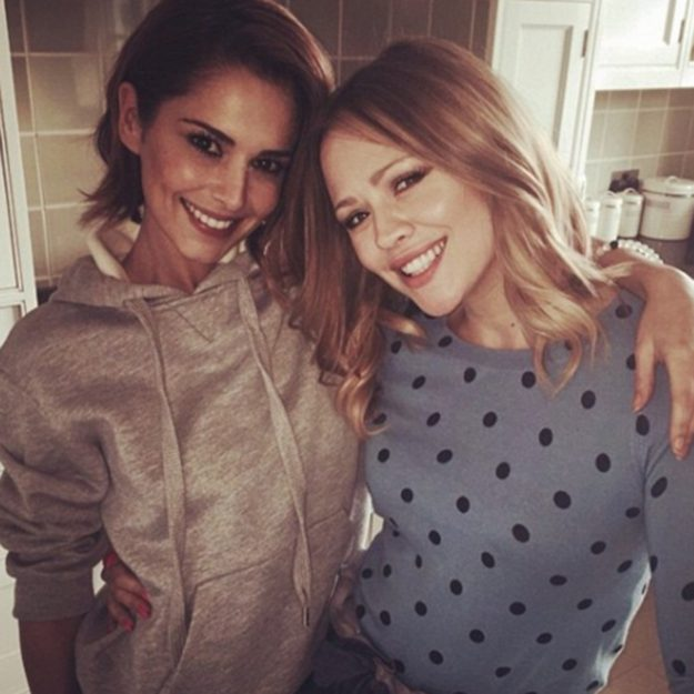 Cheryl is 'over the moon' for Kimberley