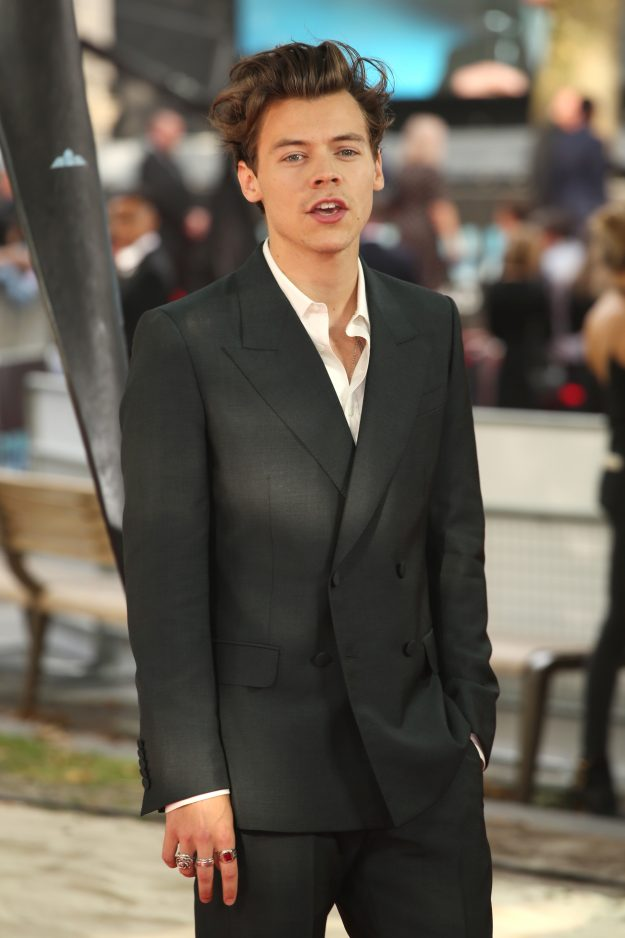 Harry Styles attended the World Premiere of Dunkirk