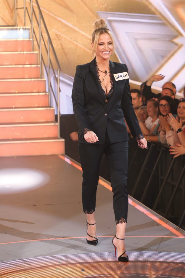 Sarah Harding on Celebrity Big Brother