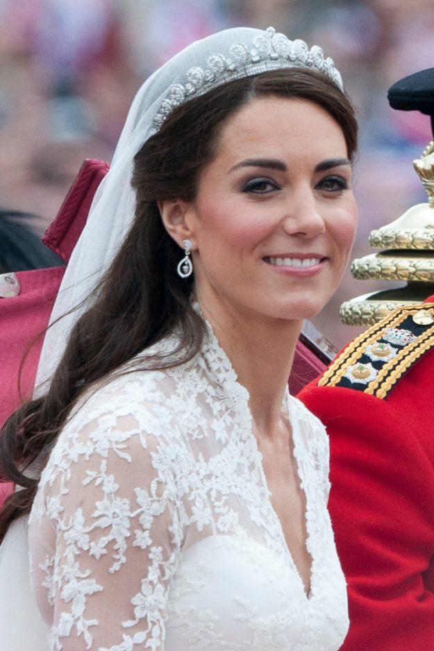 Kate Middleton Wedding Dress Tiara