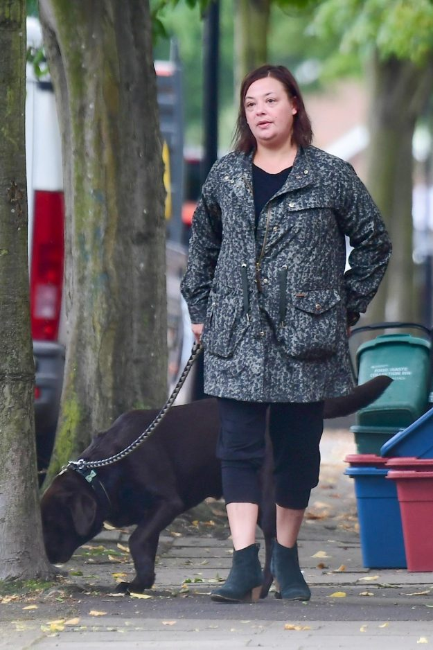 Lisa Armstrong stepped out following Ant's rehab stint