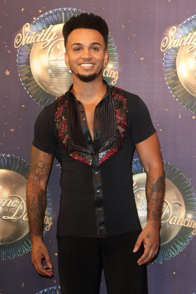Aston Merrygold is currently top of the Strictly Come Dancing leaderboard