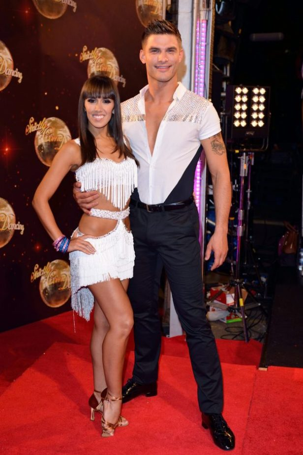 Strictly Come Dancing S Aljaz Skorjanec And Janette Manrara S
