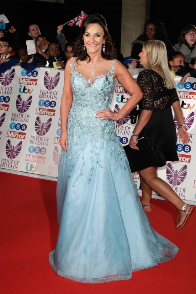Shirley Ballas attends the Pride Of Britain Awards