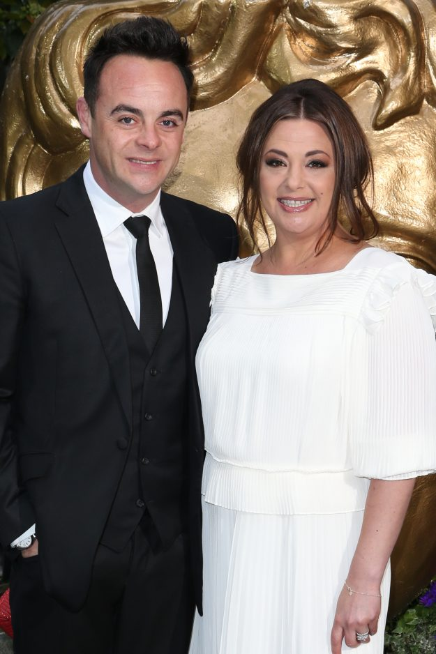Ant McPartlin and his wife attend British Academy Television Craft Awards 2015 at the Brewery, London