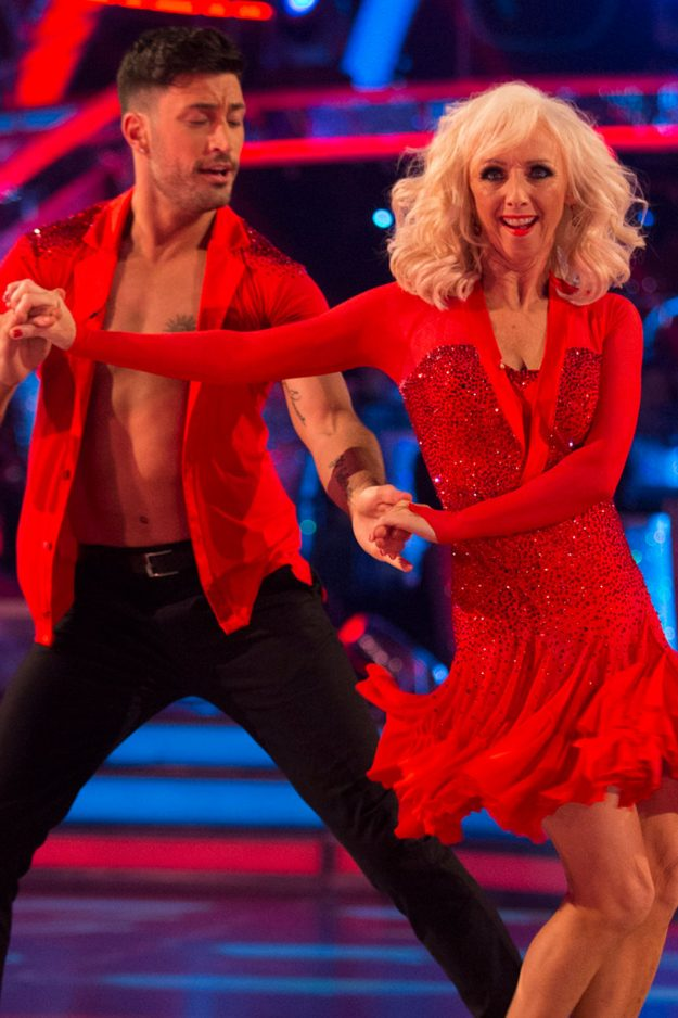 Strictly Come Dancing: Viewers left BAFFLED over Debbie McGee performance as they question the theme of her and Giovanni Pernice's Salsa