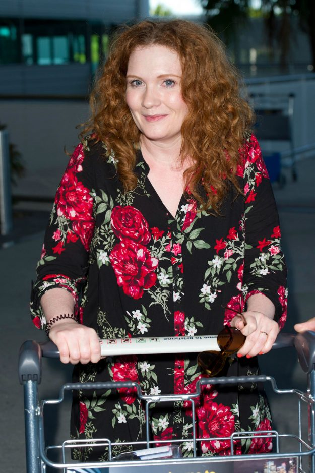 I'm A Celebrity 2017: Jennie McAlpine confirmed for the jungle as the Coronation Street star touches down in Brisbane Airport