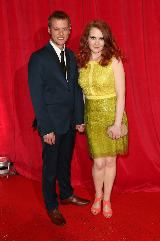 Jennie McAlpine and Chris Farr married in a secret ceremony