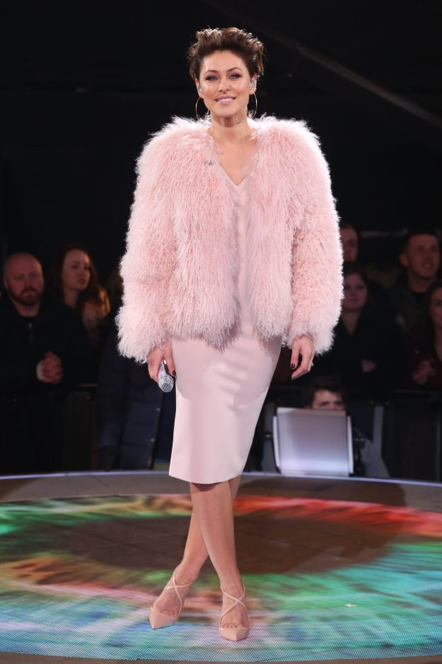 Emma Willis ensured all eyes were on her during the Celebrity Big Brother final