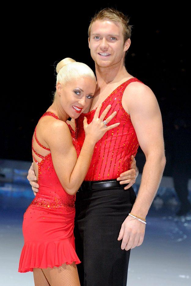 Brianne Delcourt had her hair dyed platinum blonde in 2010