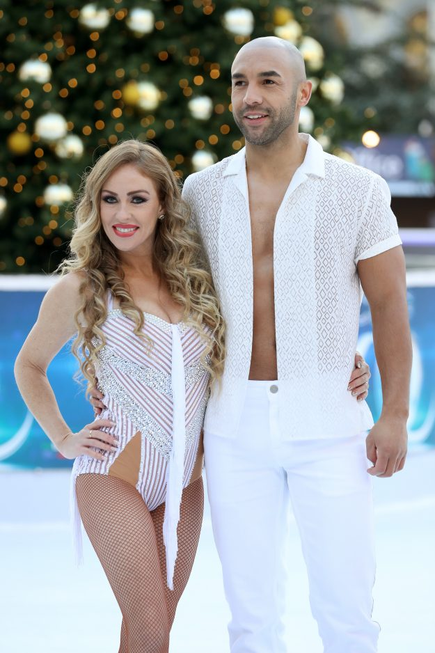 Dancing On Ice skater Brianne Delcourt now opts for a more natural look while partnered up with Alex Beresford