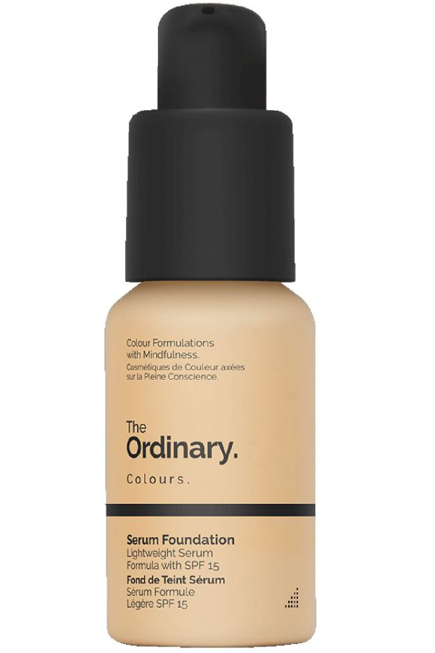 Holly Willoughby foundation: The Ordinary Serum is best for full coverage