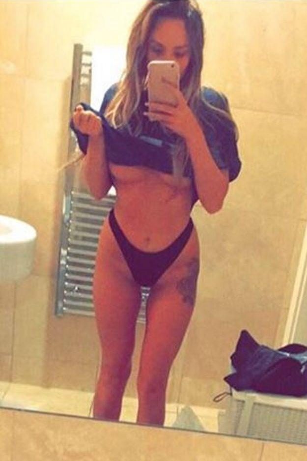 Charlotte Crosby mirror selfie