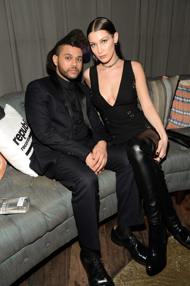 Model Bella Hadid and singer The Weeknd were first romantically linked in April 2015