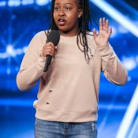 Britain's Got Talent: Simon Cowell first to press Golden Buzzer as 15-year-old singer Sarah Ikumu performs incredible audition with And I Am Telling You