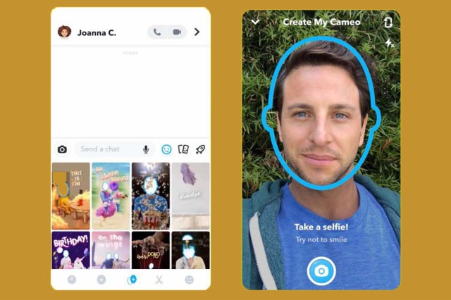 En Hızlı Cameo Snapchat Nasıl Kullanılır