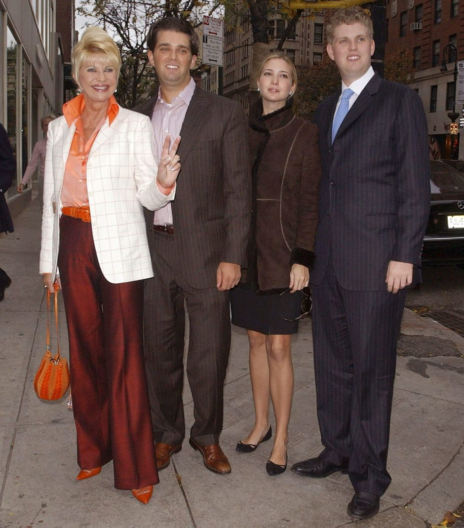 Ivana Trump Releasing New Book 'Raising Trump' About Children Ivanka, Eric  and Donald Jr. | PEOPLE.com