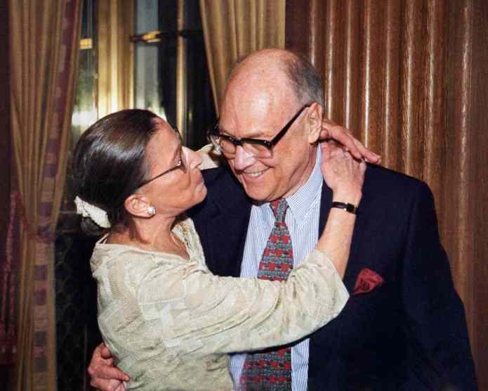 Ruth Bader Ginsburg on Her Beloved Husband Marty | PEOPLE.com