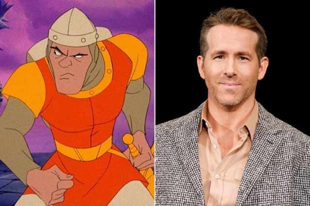 Ryan Reynolds in Talks to Star in Netflix's Dragon's Lair   PEOPLE.com