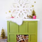 How To Fake A Mantel For The Holidays Real Simple