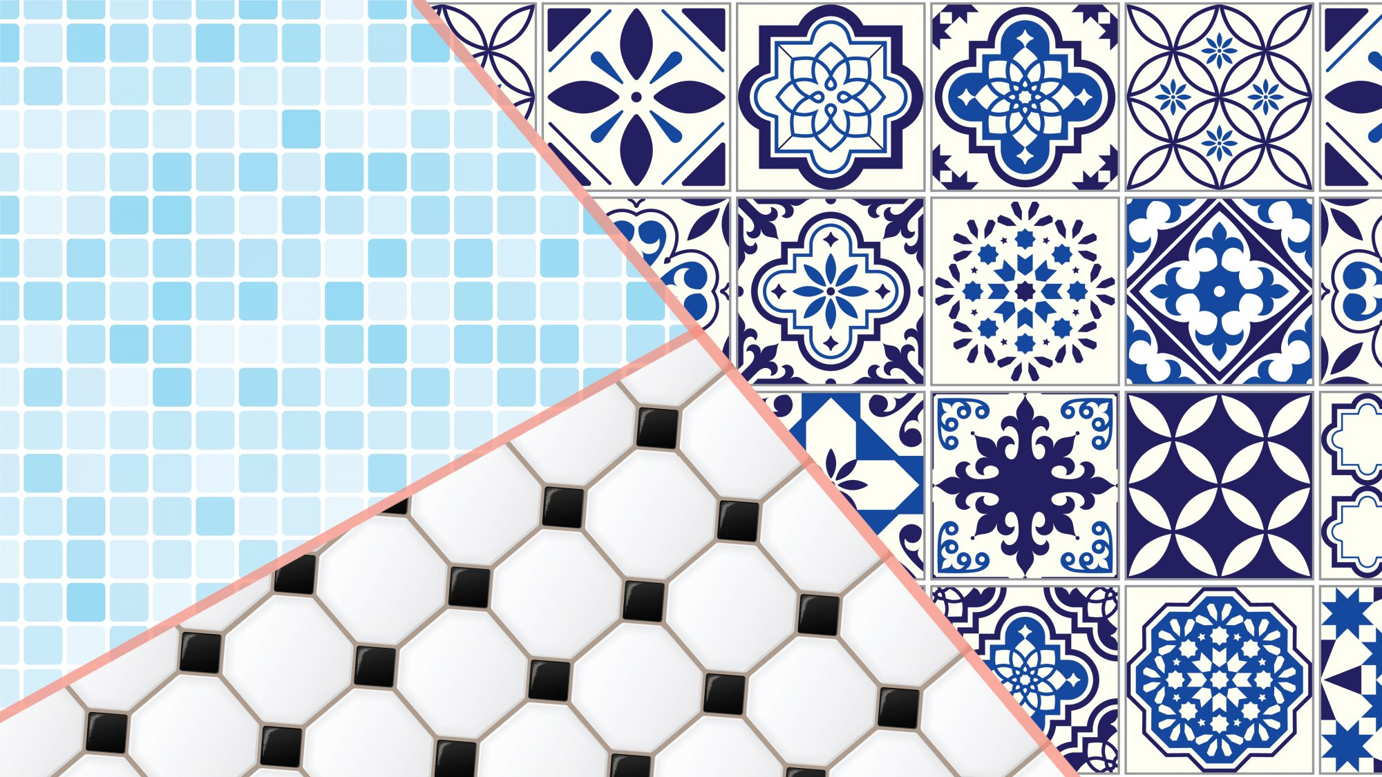 the 12 different types of tiles