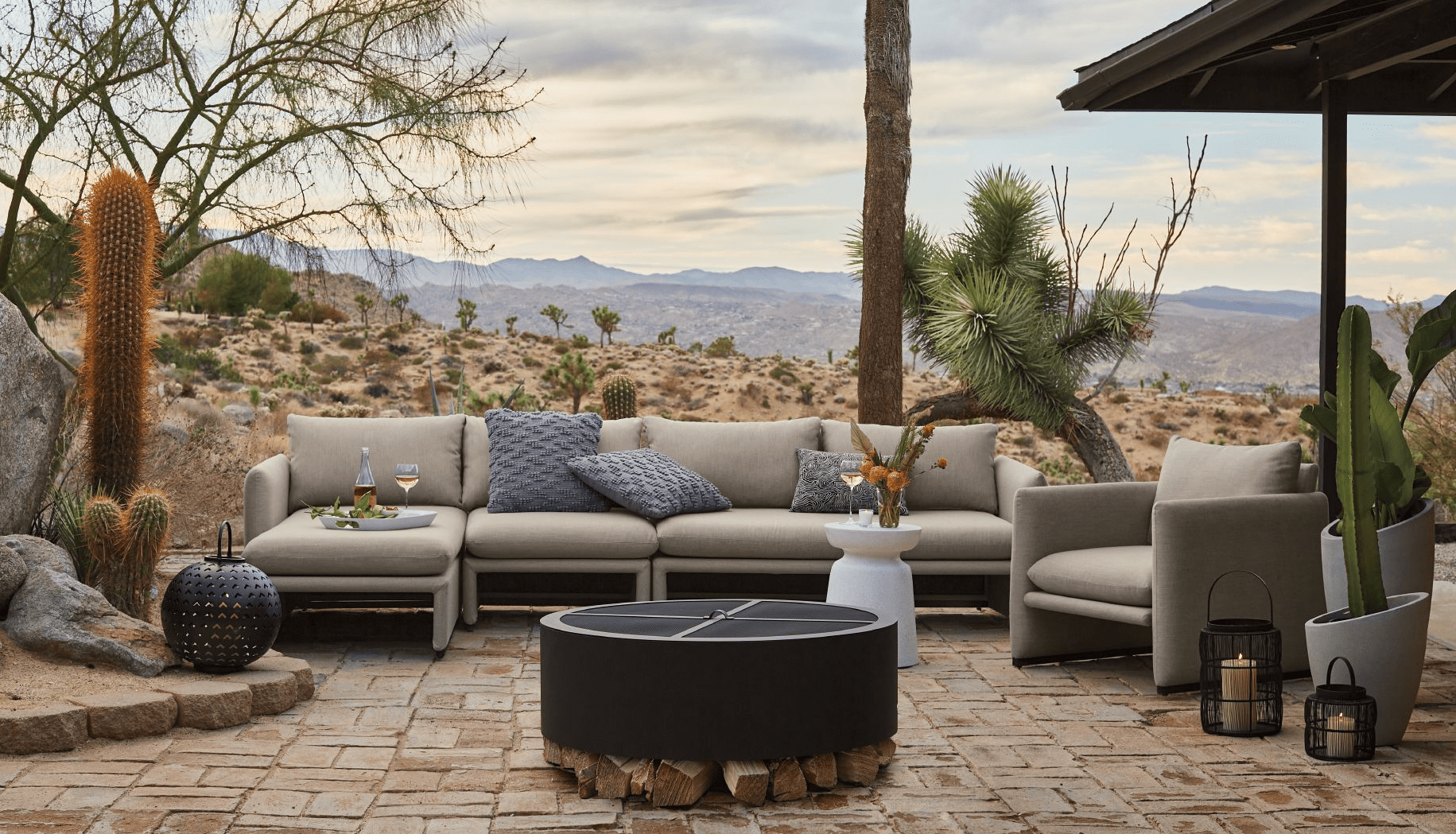 patio as cozy as your living room
