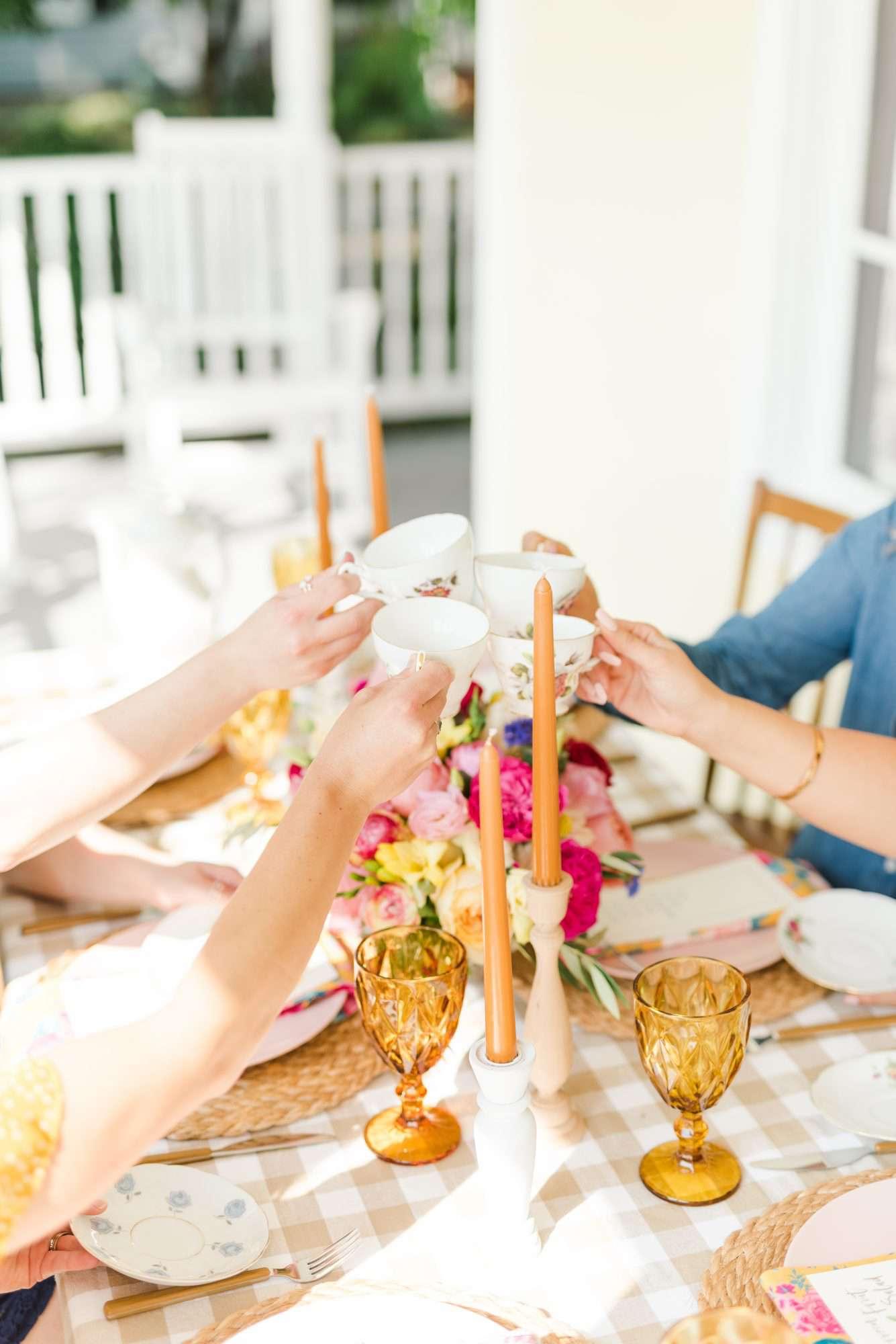 Bridal Shower Tea Party Ideas For A Classic Pre Wedding Celebration Martha Stewart