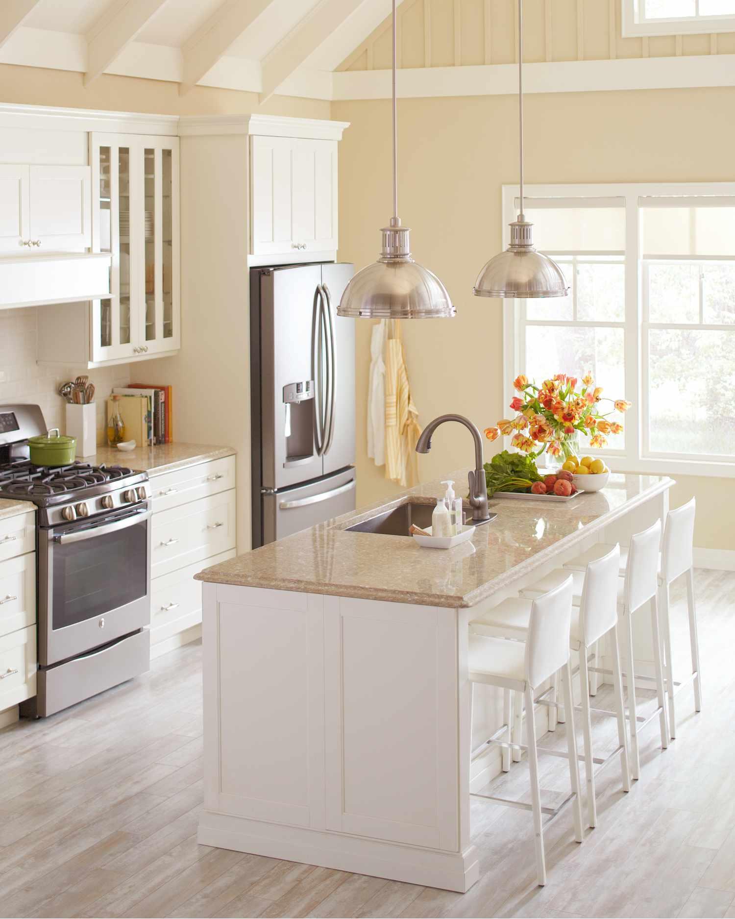 quartz and corian countertops