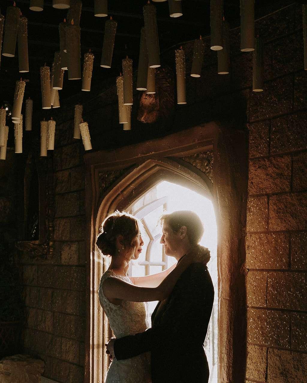A Moody Magical Harry Potter Themed Wedding Martha Stewart