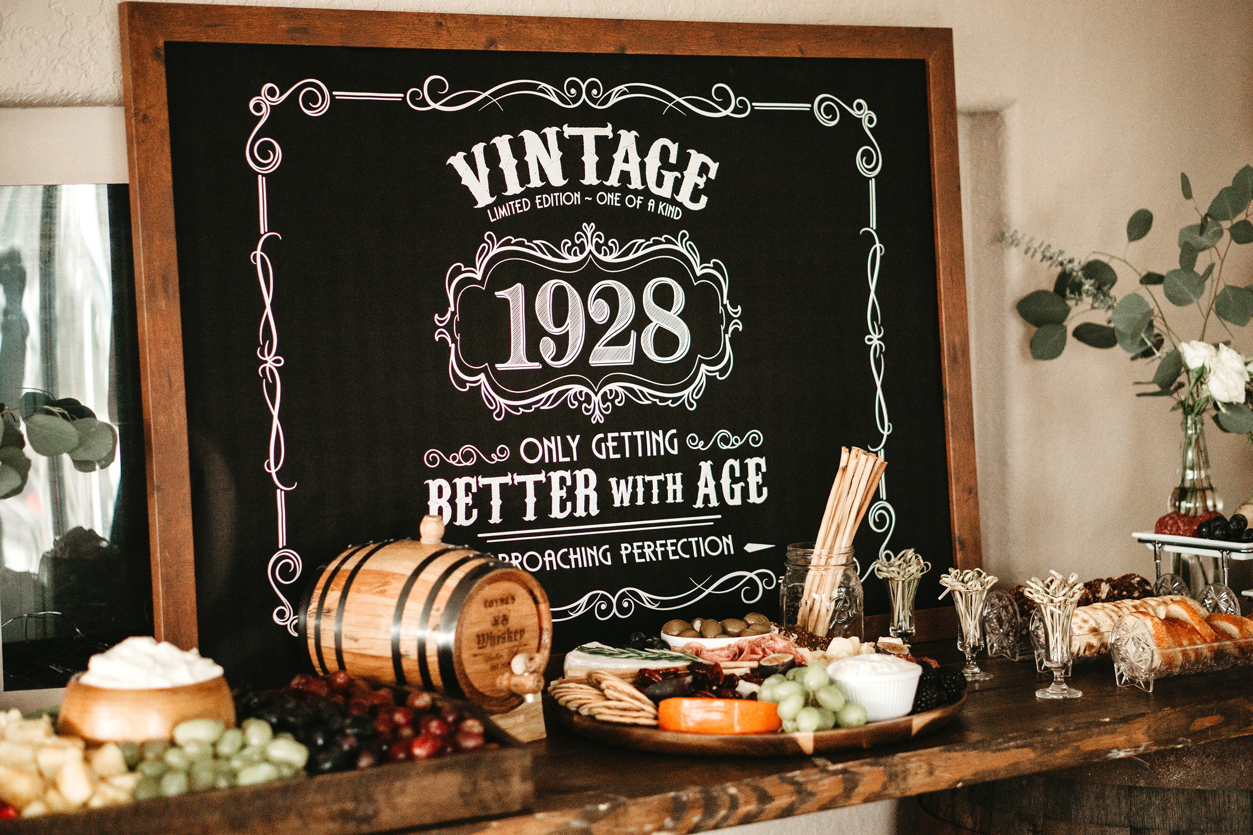 A Grandfather S 90th Birthday Party Is Aged To Perfection Martha Stewart