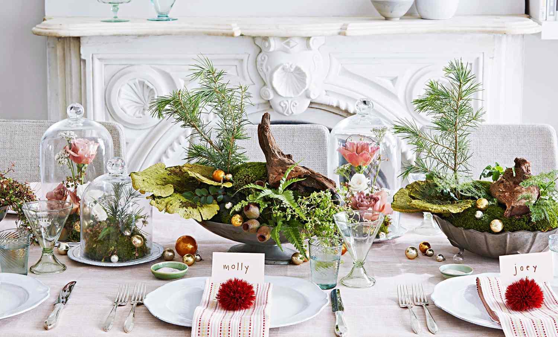 beautiful christmas table settings that