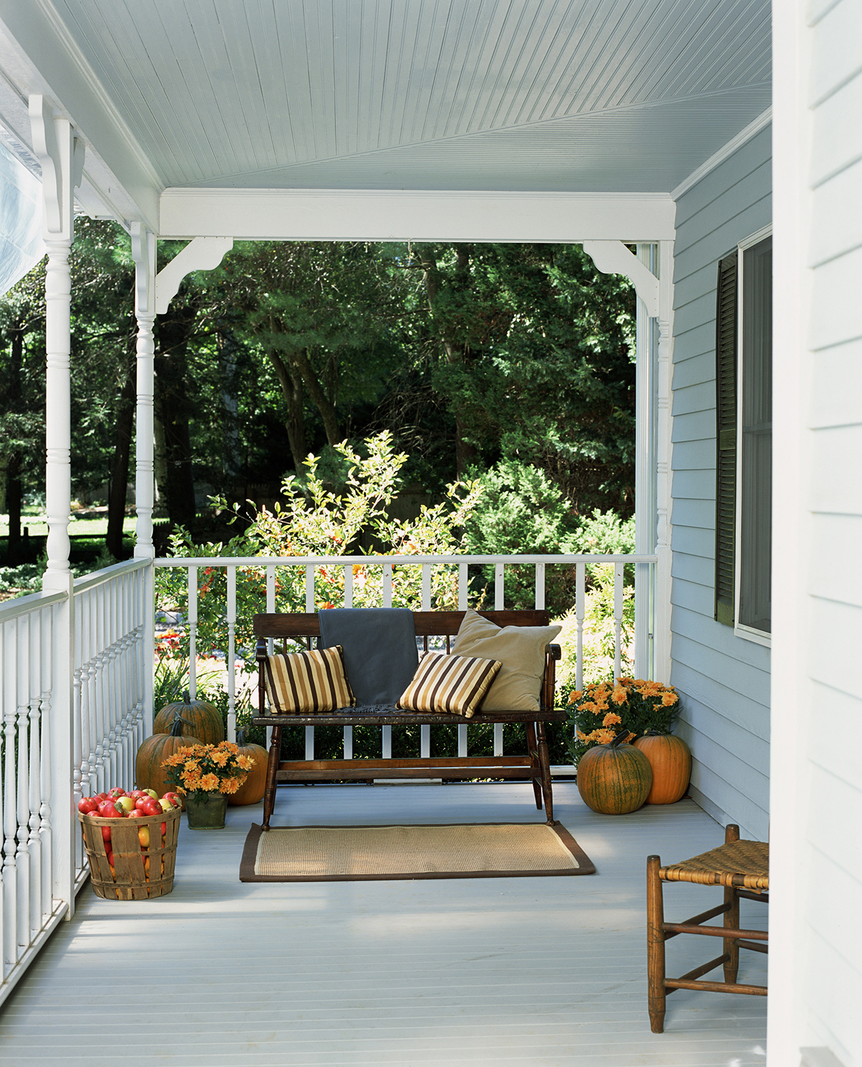 why you should consider painting your porch ceiling martha stewart