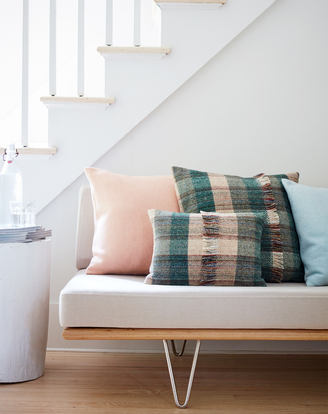how to make a blanket into pillows