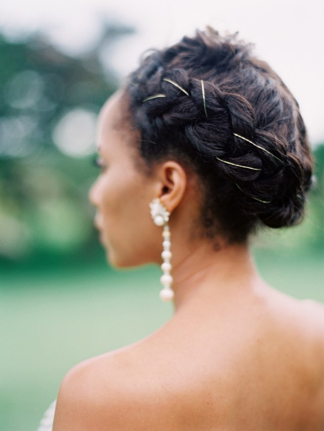 28 braided wedding hairstyles we love | martha stewart weddings