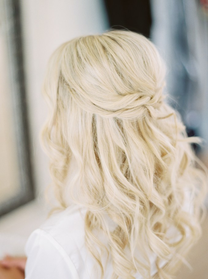 37 pretty wedding hairstyles for brides with long hair