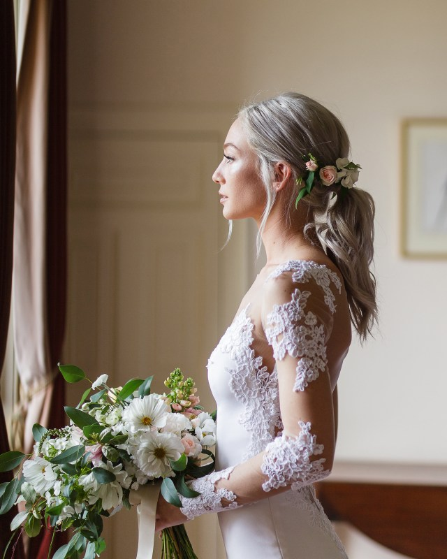 30 wedding-worthy ponytails to complete your bridal beauty