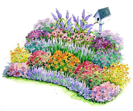 Five Fabulous Garden Plans Better Homes Gardens