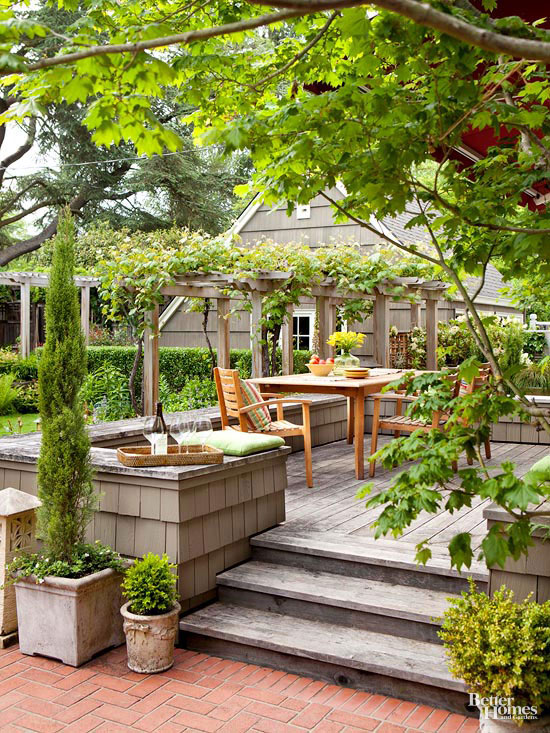 Small Simple Outdoor Living Spaces Better Homes Amp Gardens