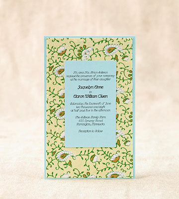 Easy To Make Wedding Invitations Better Homes Gardens