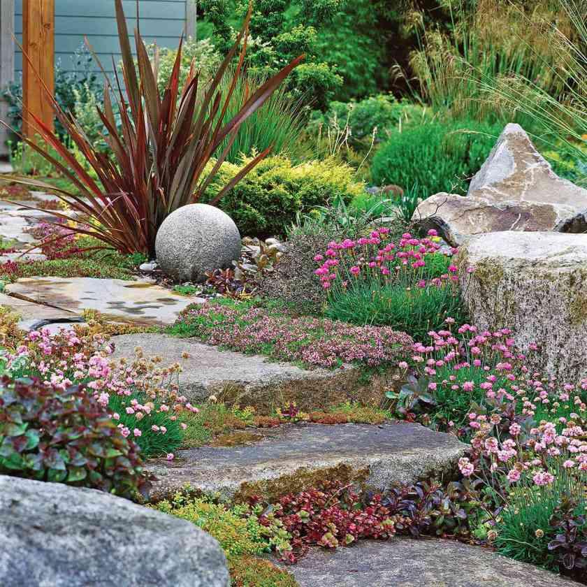 drought slope garden