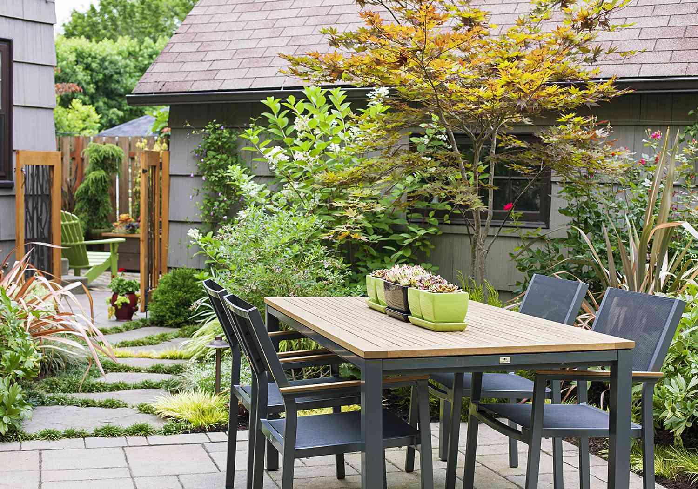 https www bhg com gardening design small tree garden tour