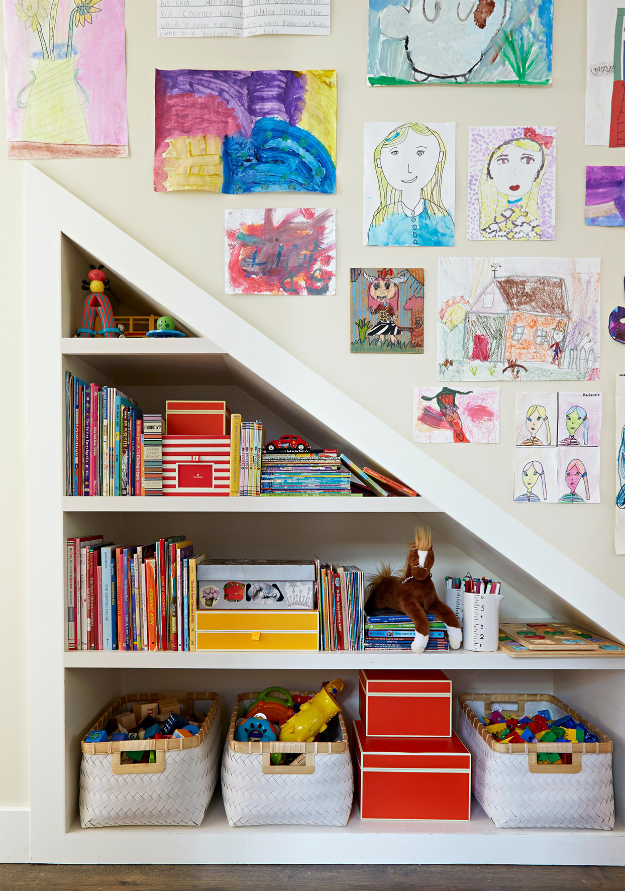 20 Staircase Storage Ideas To Help You Make The Most Of Every Inch Better Homes Gardens
