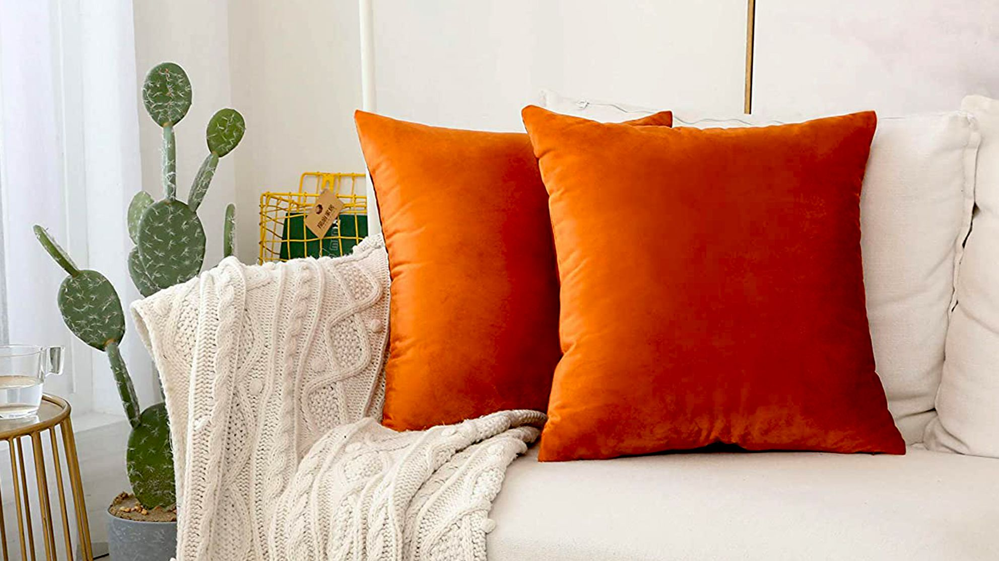 pillow covers for fall on amazon