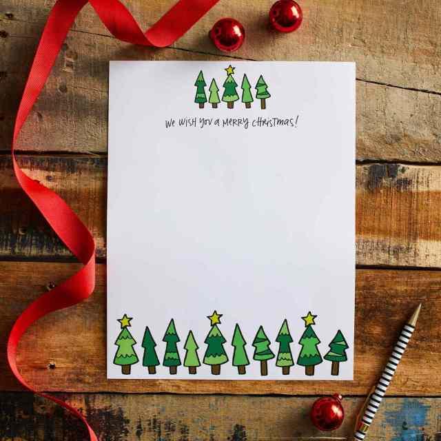 18 Free Christmas Letter Templates  Better Homes & Gardens