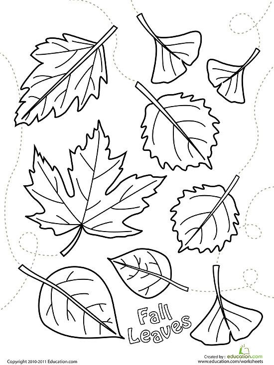 fall coloring pages for preschoolers # 14