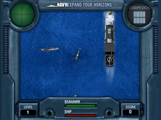 Navy Helicopter Game