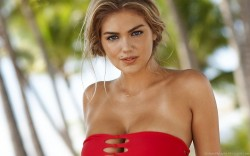 Kate Upton Red Dress