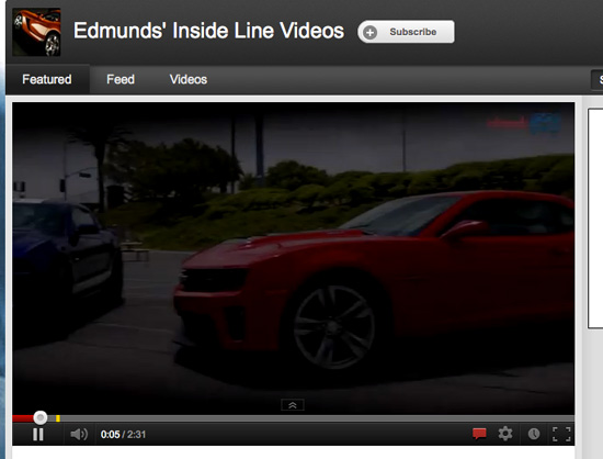 Edmunds Inside Line Video