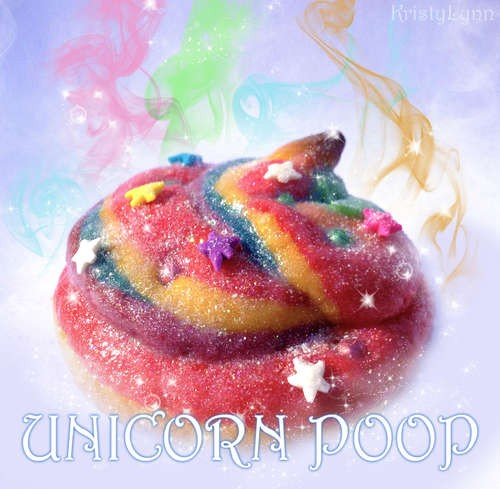 Unicorn Poop Cookie