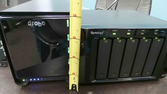 Drobo Synology Height